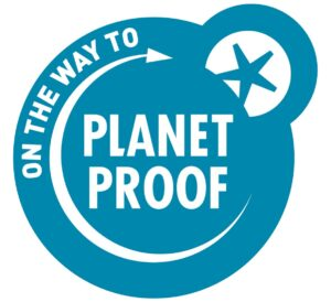 logo on the way to planet proof